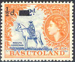 Stanley Lisica LLC -- Basutoland - A complete list of mint
