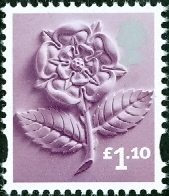 England (Regional) Stamps - A complete list of mint postage stamps
